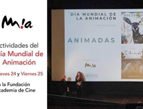 Día Mundial de la Animación en la Academia de Cine